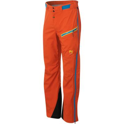 Outdoorové nohavice pánske Karpos STORM EVO oranžové