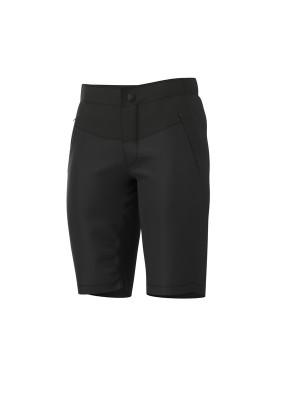 Letné cyklistické nohavice pánske ALÉ OFF-ROAD GRAVEL SIERRA čierne