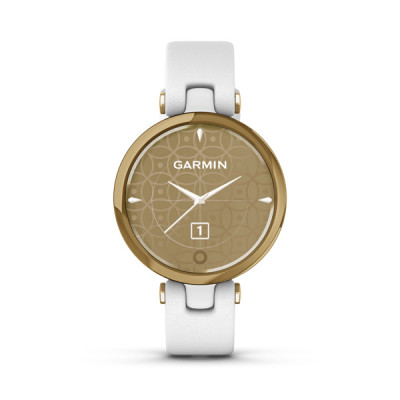 LILY, Classic, Gold/White, Italian Leather