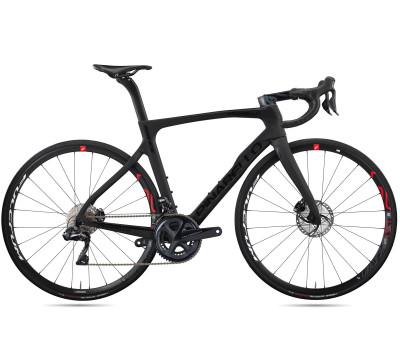 Cestný bicykel Pinarello PRINCE disk TiCR SRAM Force eTAP AXS 2x12 Fulcrum Racing 400 čierny