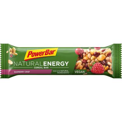 PowerBar Natural Energy Cereal energetická tyčinka 40g malina chrumky