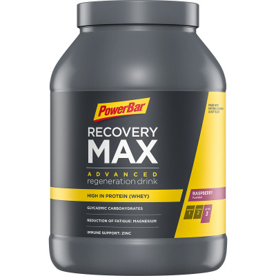 Recovery MAX PowerBar regeneračný nápoj 1144 g malina