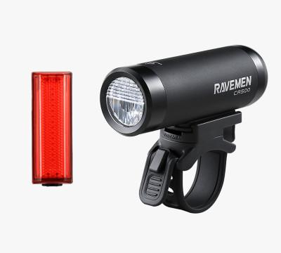 Set svetiel predných CR500+ zadných TR20 Ravemen Lights
