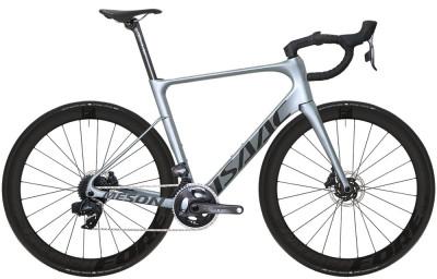 Cestný bicykel Isaac Meson Disc Olive Grey