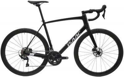 Cestný karbónový bicykel s kotúčovými brzdami Isaac Vitron Onyx Black čierna