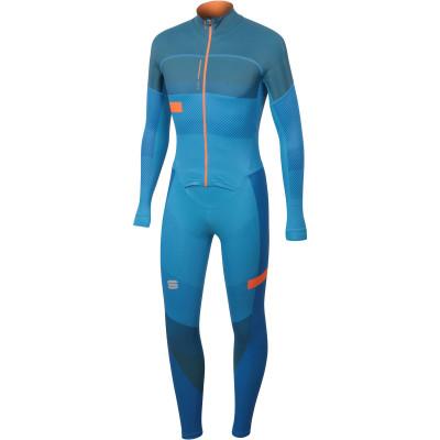 Zimná skialpová kombinéza pánska Sportful APEX RACE modrá/oranžová