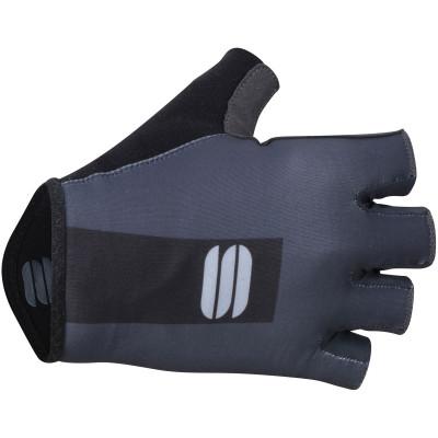 Pánske letné rukavice Sportful Bodyfit Pro antracitové/čierne