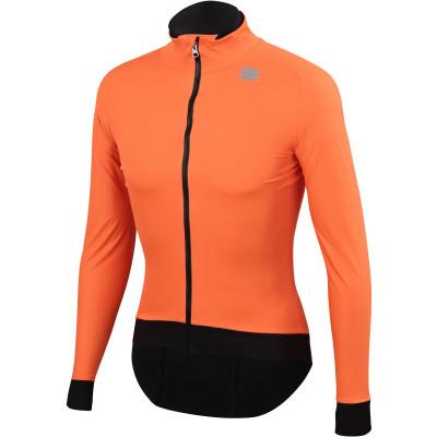 Cyklistická bunda pre mužov Sportful Fiandre Pro oranžová