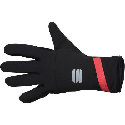 Zimné cyklistické rukavice Sportful Fiandre čierne