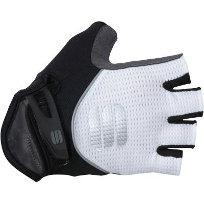 Dámske letné rukavice Sportful Neo biele/čierne