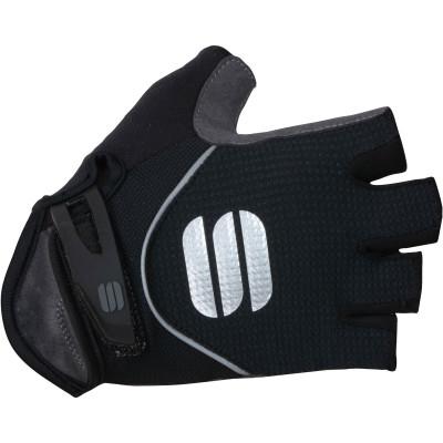 Dámske krátke cyklistické rukavice Sportful Neo čierne