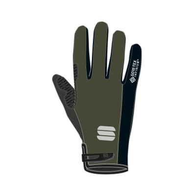 Cyklistické rukavice Sportful WS ESSENTIAL 2 kaki/čierne