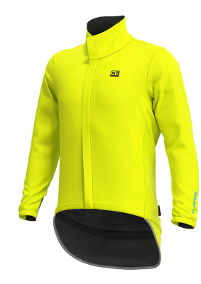 Vodeodolná cyklistická bunda pánska ALÉ KLIMATIK EXTREME žltá