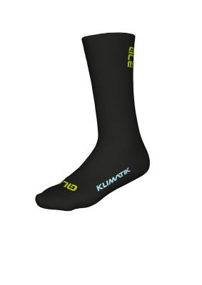 Zimné cyklistické ponožky Alé Team Klimatik Socks H22 čierne